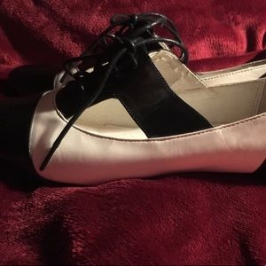 Aldo Shoes - Aldo black and white brogues